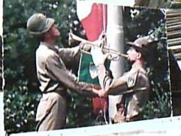 MILITARI ALPINI   ALZABANDIERA ALZABANDIERA V1973  EC11431 Pieghine - Manovre