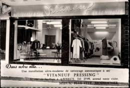 Pressing Nettoyage à Sec Vitaneuf 5 Rue De La Gare à Annecy Devanture Magasin - Annecy