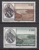PGL BA0057 - ITALIA REPUBBLICA SASSONE N°988 + AEREA ** - 1961-70:  Nuovi