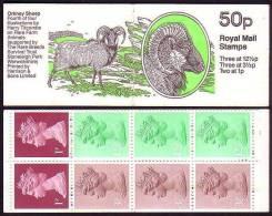 GB Rare Animals Orkney Sheep SG#FB26 - Hoftiere