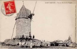 Saint Pastour – Vue Du Moulin Du Tuquet - Autres Communes