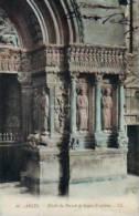 Arles   191           Détail Du Portail De St Trophime   . - Arles