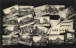 93 - Souvenir  De Les Lilas - Vues Multiples - 42295 - Les Lilas