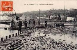 Clamecy – 144 Flotteurs Au Pertuis (bois) - Clamecy