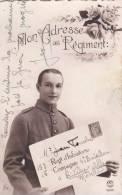 Mon Adresse Au Régiment. CPA Envoyée Par Jean Fourché 153 Régiment D'infanterie, 4èm Bataillon à Bitche - Andere