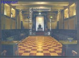 Belgium 2008 Mi Bl130 Mnh - Freemasonry, Organizations, Symbols - Franc-Maçonnerie
