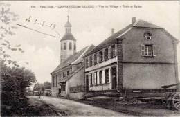 Chavannes-les-Grands – 600 Vue Du Village – Ecole Et Eglise - France