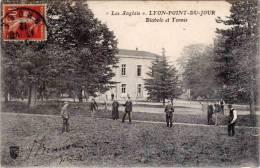 Lyon-Point-du-Jour – « Les Anglais » - Diabolo Et Tennis - Lyon
