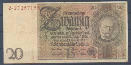 Germany Paper Money Bill Of 20 Marka 22-1-1929 USED - [ 3] 1918-1933: Weimarrepubliek