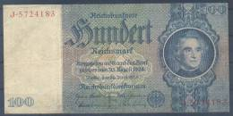 Germany Paper Money Bill Of 100 Mark 1948 - [ 5] 1945-1949 : Allies Occupation