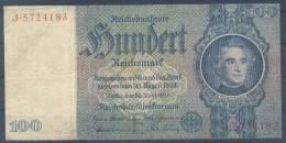 Germany Paper Money Bill Of 100 Mark 1948 - [ 5] Ocupación De Los Aliados
