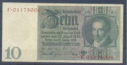Germany Paper Money Bill Of 10 Mark 22-1-1929 - [ 3] 1918-1933 : República De Weimar