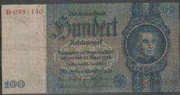 Germany Democratic Republic Paper Money Bill Of 100 Marks 1935 - [ 4] 1933-1945: Derde Rijk