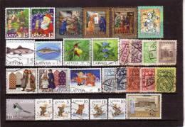 LATVIA Used Stamps Lot 1 - Latvia