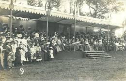 N°28441 -carte Photo Bayeux- Fêtes De Gymnastique -juillet 1909)-la Tribune- - Bayeux