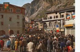 3991 Valls Andorra Discours General De Gaulle Prince D Andorre  Timbrée 1968 - Andorra