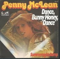 """45 Tours SP - PENNY Mc LEAN  - EURODISC 911131 """" DANCE, BUNNY HONEY, DANCE """" + 1 - Vinyl Records"""