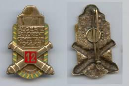 Insigne Du 12e Régiment D´Artillerie - Esercito