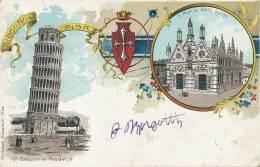 Pionniere 1900 Ricordo Di Pisa Carteleria Pizzanelli - Pisa