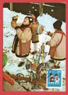 Roumanie - Carte Maximum - Contes Enfantins (Nouvel An 1970) - Roumanie
