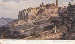 CPA  PALESTINE - Illustrateur - Eglise De La Nativité - Palestine