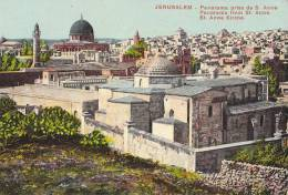 CPA  ISRAEL - JERUSALEM - Panorama  Pris De S. Anne - Israel