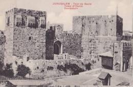 CPA  ISRAEL - JERUSALEM - Tour De David - Israel