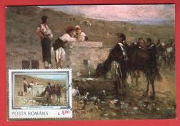 Roumanie - Carte Maximum - Nicolae Grigorescu (Peintre - Peinture) - Roumanie