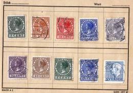 (8 Scan) Europa Und Übersee, Markenheft Mit > 70 Alten Marken - Briefmarken