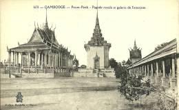 CAMBODGE  - PNOM-PENH - PAGODE ROYALE ET GALERIE DE L'ENCEINTE  1631 - Cambodge