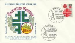 ALEMANIA BERLIN FIESTA NACIONAL DE GIMNASIA DEPORTE - Gymnastiek