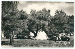 Cpsm: 44 PONT MAHE Par ASSERAC (ar. Saint Nazaire) EDEN CAMPING (4 Cv Renault) N° 4 - Autres Communes