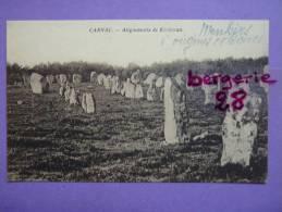 CPA 56 - CARNAC - Les Alignements De Kerlescan - Carnac