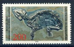 """1978 Germany  1 Stamps MNH """"FOSSILS"""" Michel  975 - [7] Federal Republic"""