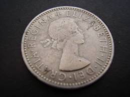 Great Britain 1962 QUEEN ELIZABETH II  ONE SHILLING  USED  CONDITION As Seen. - 1902-1971 : Post-Victorian Coins