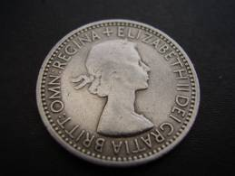 Great Britain 1953 QUEEN ELIZABETH II ONE SHILLING USED COIN As Seen. - 1902-1971 : Post-Victorian Coins