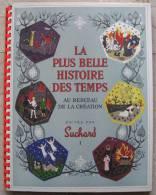 ALBUM FIGURINE COMPLETO SUCHARD ANNO 1956 LA PLUS BELLE HISTOIRE DES TEMPS AU BERCEAU DE LA CREATION CHOCOLAT CIOCCOLATO - Suchard