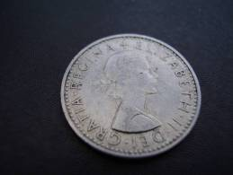 Great Britain 1965 QUEEN ELIZABETH II SIX PENCE USED COIN As Seen. - 1902-1971 : Post-Victorian Coins