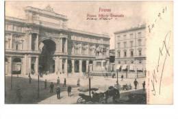 10486     FIRENZE    PIAZZA VITTORIO EMANUELE 1901 - Italia