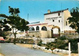 130885 LA COURONNE COMMUNE DE MARTIGUES  GRAND HOTEL RESTAURANT DES PINS  CHEZ SAUVEUR - Martigues