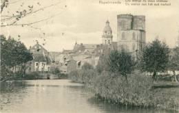 Rupelmonde - De Wallen Van Het Oud Kasteel-1912  ( Verso Zien  ) - Kruibeke