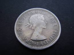 Great Britain 1961 QUEEN ELIZABETH II SIX PENCE USED COIN As Seen. - 1902-1971 : Post-Victorian Coins