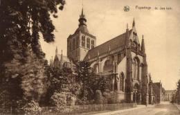 BELGIQUE - FLANDRE OCCIDENTALE - POPERINGE - POPERINGHE - St. Jans Kerk.