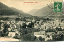 CPSM 65 VALLEE D AURE ARREAU VUE GENERALE 1912 - Autres Communes