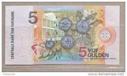 Suriname - Banconota Non Circolata Da 5 Fiorini - 2000 - - Suriname