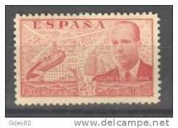 ES881-LM2TPSC.Spain .Espagne.Avion.Autogiro.I Ngeniero.LA CIERVA.Aereo.1939   (Ed 881**) Sin Charnela. MUY BONITO . - Profesiones