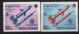 Space-espace Afghanistan 693-694** - MNH - - Afghanistan