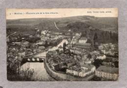 "34919     Belgio,    Bouillon   -  Panorama  Pris  De La  Cote  D""Auclin,  NV - Bouillon"