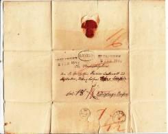 Faltbrief Inhalt, Preussischer Ovalstempel Bayern, Esslingen, Berlin, An Hofer Von Lobenstein Koenigsberg 1840 (37733) - ...-1849 Vorphilatelie
