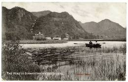 LAKE DISTRICT : THE HEAD OF DERWENTWATER AND LODORE / POSTMARK - CARLISLE 1906 - Cumberland/ Westmorland